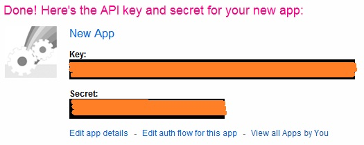 Flickr API Key