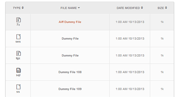 File Away Plugin