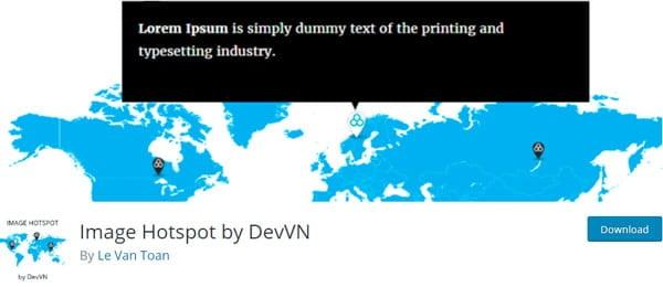 Image Hotspot WordPress plugin by DevVN