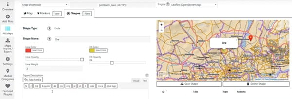 Embed highly customized maps with Ultimate Maps.