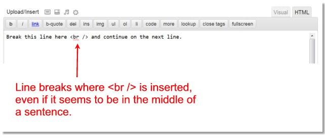 Manually Insert a Line Break in WordPress - WPMU DEV