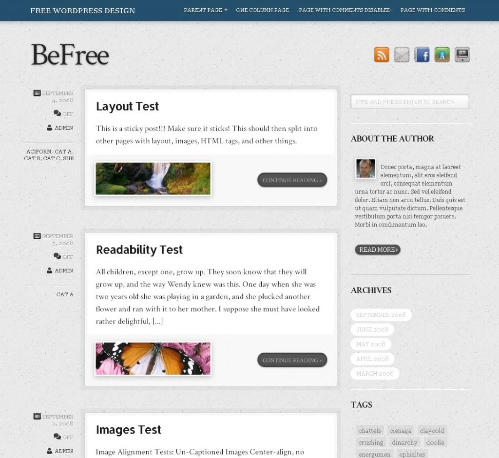 Theme4Press Releases Free Tumblr Style WordPress Theme - WPMU DEV