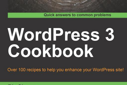 Win a free copy of WordPress 3 Cookbook from Packt Publishing
