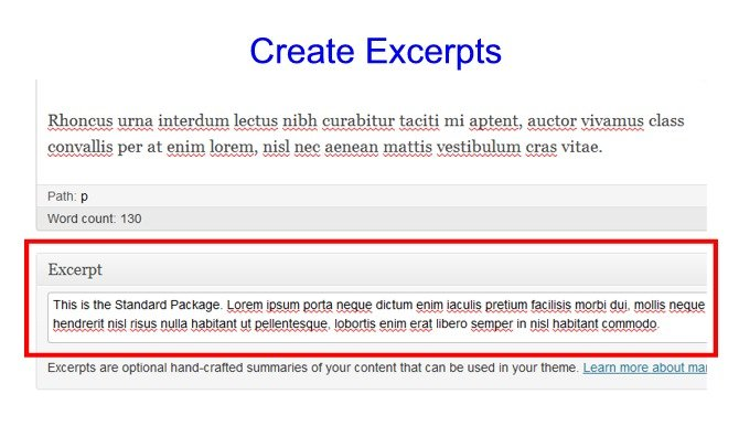 Cms quest how to put child page excerpts on a parent page wpmu dev