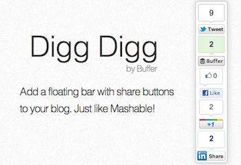 Digg Digg Top 10 WordPress Social Sharing Plugins Top 10 WordPress Social Sharing Plugins digg digg1