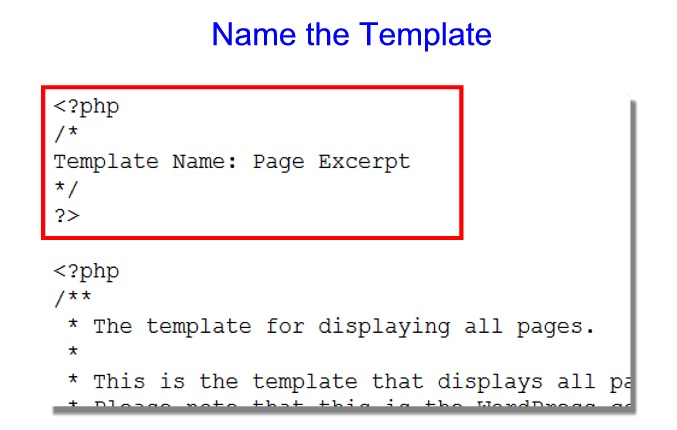 how to change the parent template wordpress