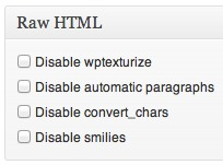 Raw HTML