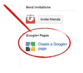 Create a Google+ Page for WordPress