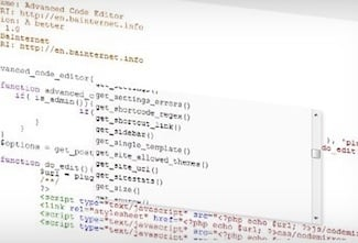 Daily WordPress Tip: Easier Coding With Advanced Code Editor