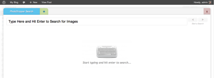 PhotoDropper Search