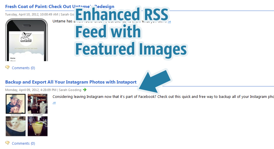 how to put rss feed on wordpress
