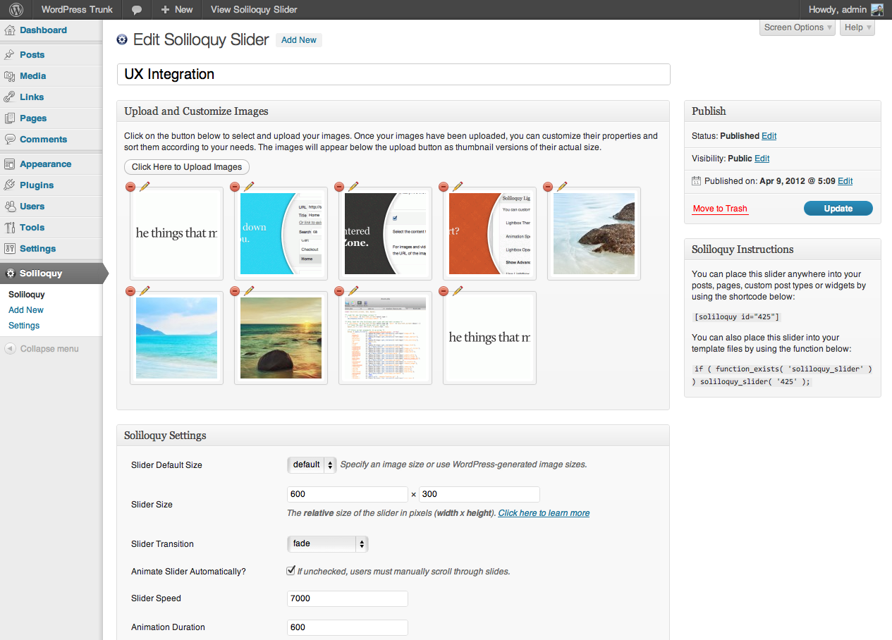 Soliloquy: The Best Responsive jQuery Slider Plugin for