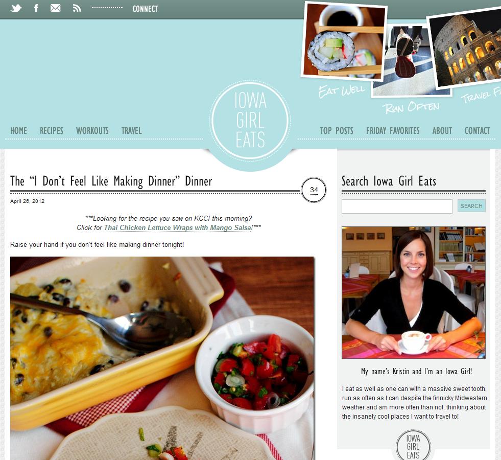 Top 25 beautiful food blogs using wordpress wpmu dev dinner forumfinder Image collections