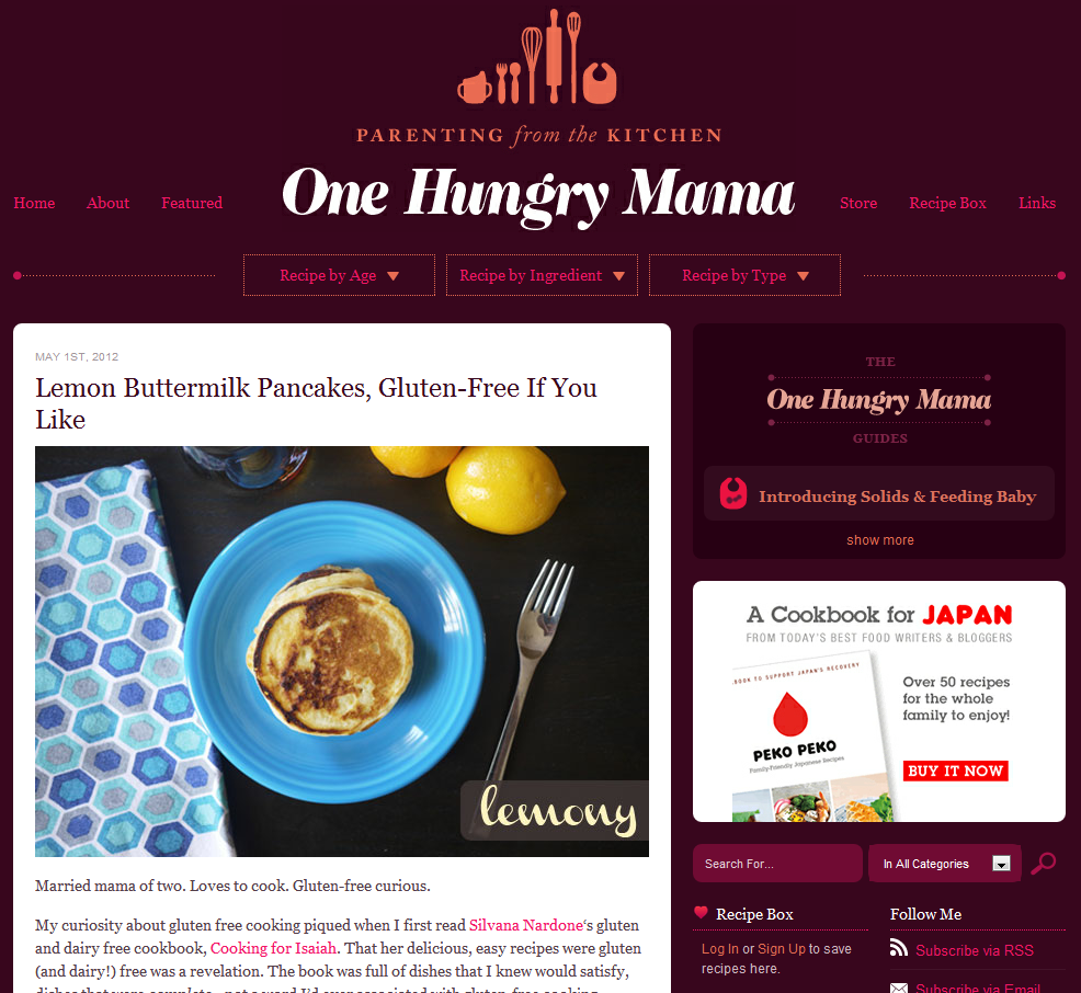 Top 25 beautiful food blogs using wordpress wpmu dev guarantee stamp forumfinder Image collections