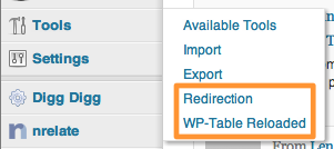 WordPress Plugins Settings