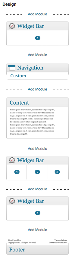 Example of iThemes Builder Wireframe