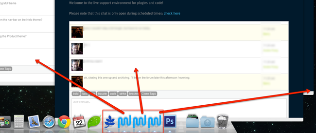 WordPress support chat rooms can run as Fluid Apps