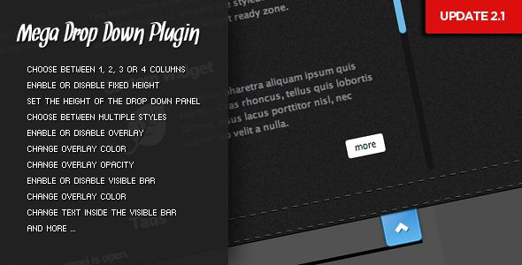 WordPress Menu Plugins - Mega Drop-Down Premium Plugin