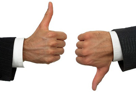 Thumbs-Up Thumbs-Down