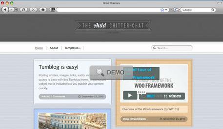 WooThemes Tumblog Theme