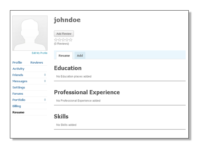 how to add courses on profile of resume