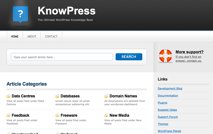 KnowPress Premium Theme