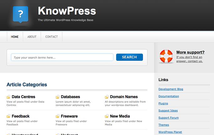 KnowPress Premium Theme