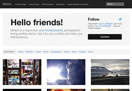 mixfolio-home-page