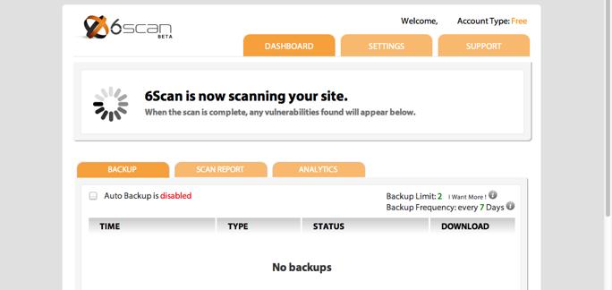 6Scan Backup