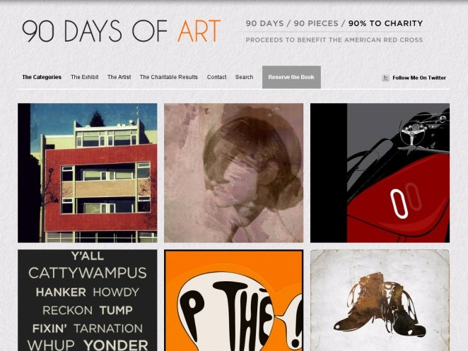 90-days-of-art-wordpress-site