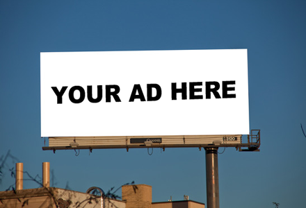 Sell ad space on your blog