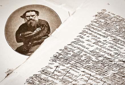 Leo-Tolstoy-s-handwriting