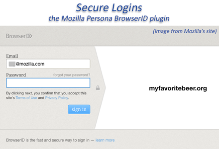 WordPress Secure Logins Mozilla Persona BrowserID
