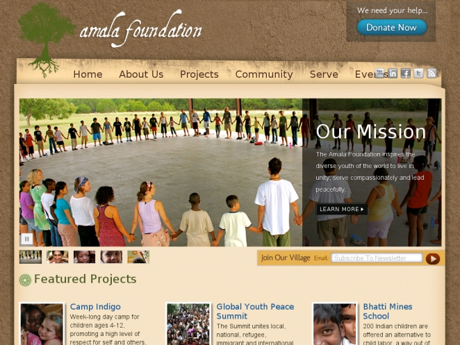 amala-foundation-wordpress-site