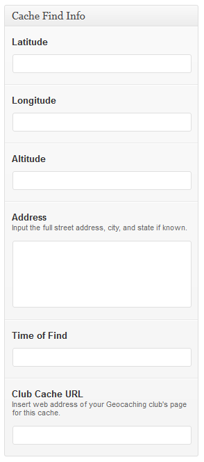 Information Architecture - Custom fields user interface for post type