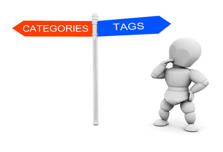 Know when to use categories or tags in WordPress