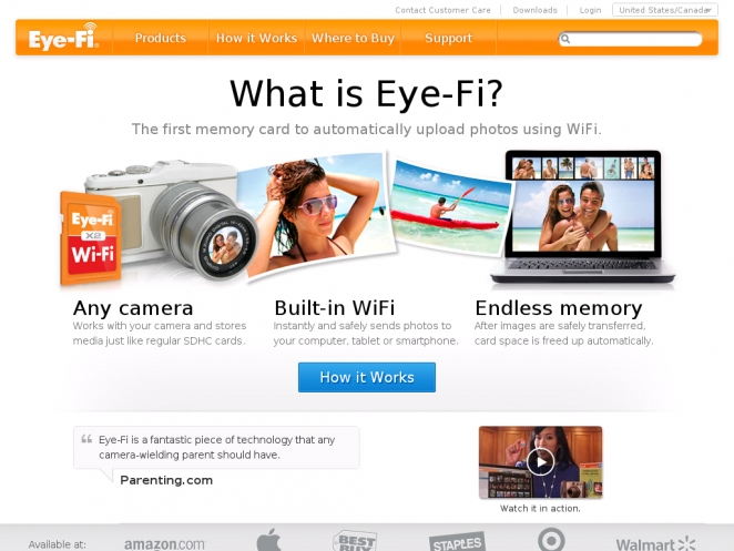 eye-fi-wordpress-site