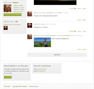 WordPress Sidebar Plugin - Screenshot of Floating Sidebar Plugin in Action-2