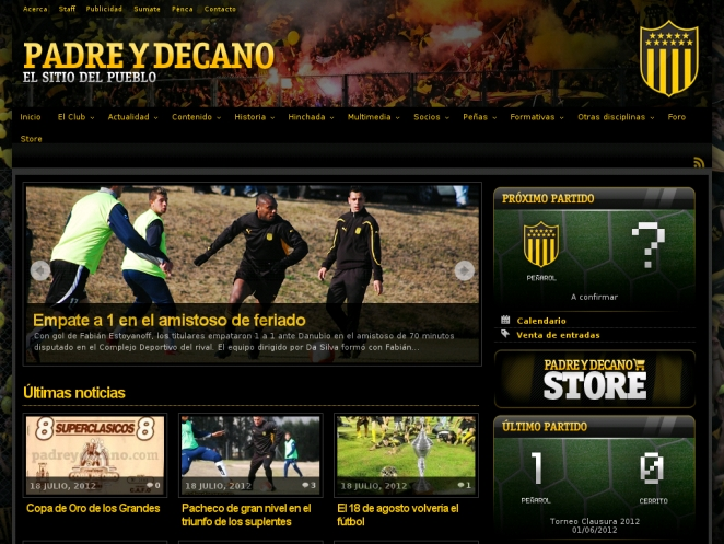 padreydecano-wordpress-site