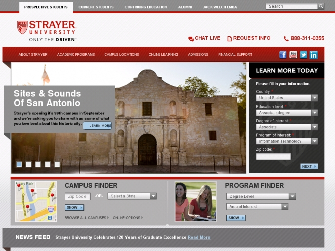 stayer-university-wordpress-site