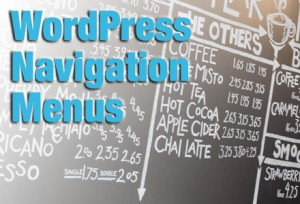 WordPress Menus-Title photo of coffee shop menu