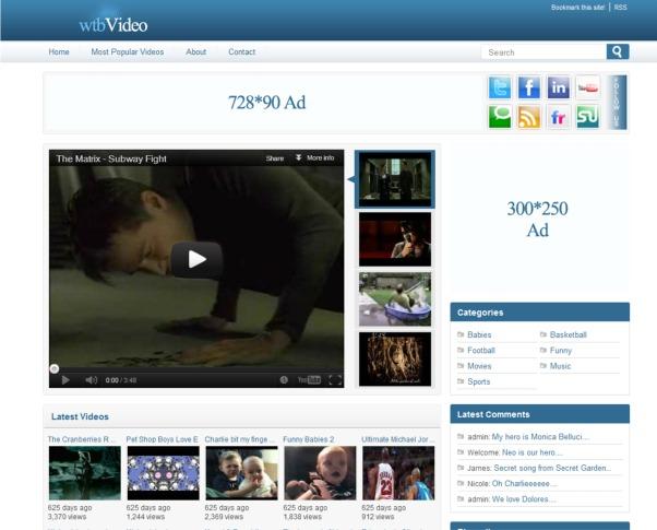 Free WordPress Video Themes - 10 Attractive Designs - WPMU DEV