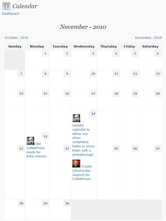 CollabPress Productivity Plugin for WordPress