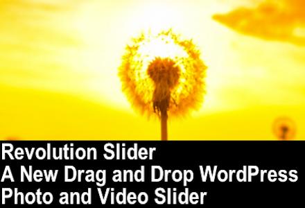 Revolution Slider Featured