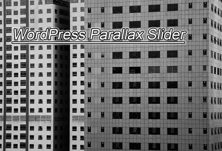 WordPress Parallax Slider Plugins