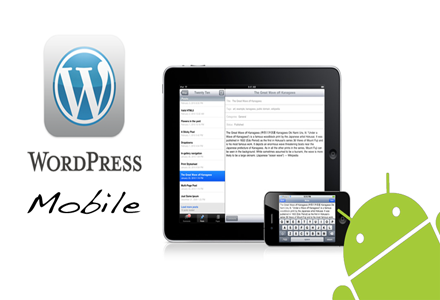 Publish to WordPress blog from mobile