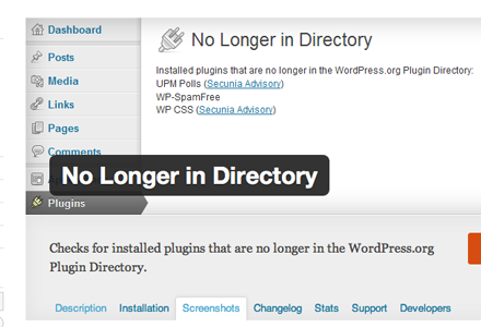 WordPress plugin to manage other plugins