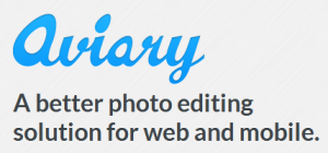 Image Editor-Aviary Logo and Taglien