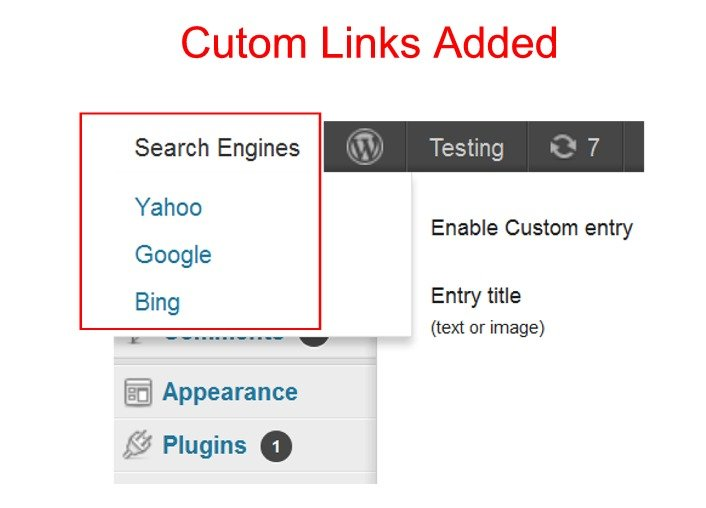 How to Add Links to the WordPress Admin Bar / Toolbar - WPMU DEV