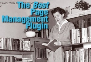 Page Order Management-Photo of librarian examining books
